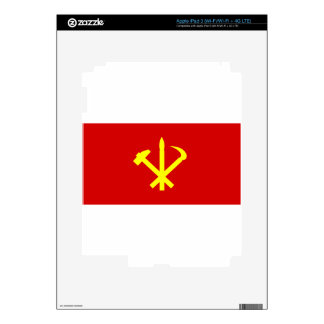 Korean Workers' Party - Korea Juche Kim Communist iPad 3 Skin