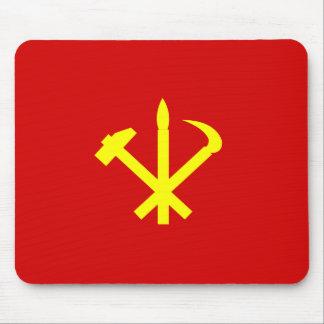 Korean Workers' Party - Korea Juche Kim Communist Mouse Pad