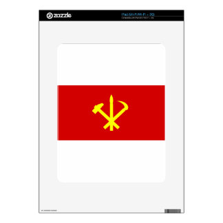 Korean Workers' Party - Korea Juche Kim Communist Skin For iPad