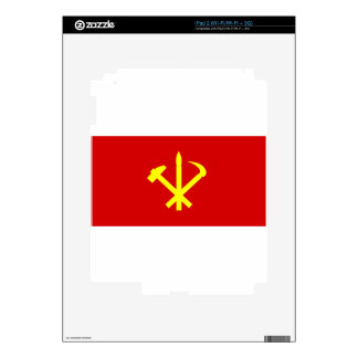 Korean Workers' Party - Korea Juche Kim Communist Skins For iPad 2