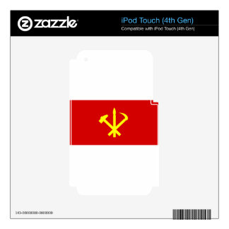 Korean Workers' Party - Korea Juche Kim Communist Skins For iPod Touch 4G