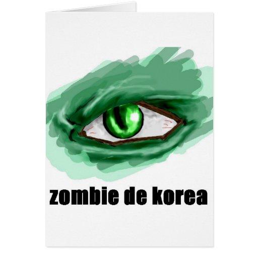 Korean Zombie Cards