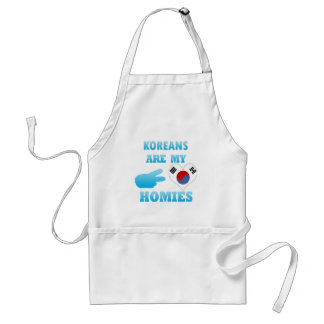 Koreans are my Homies Adult Apron