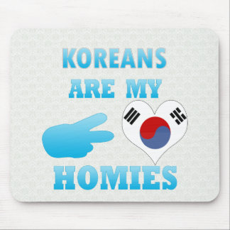 Koreans are my Homies Mouse Pad