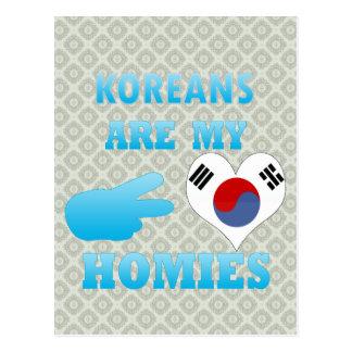 Koreans are my Homies Postcard