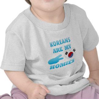 Koreans are my Homies Tee Shirts