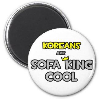 Koreans Are Sofa King Cool Fridge Magnet