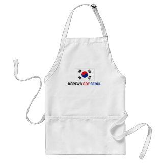Korea's Got Seoul Adult Apron