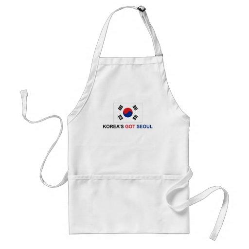 Korea's Got Seoul Aprons