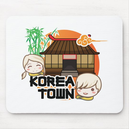 KOREATOWN MOUSE PAD
