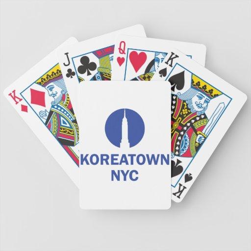 KOREATOWN NYC BARAJA CARTAS DE POKER