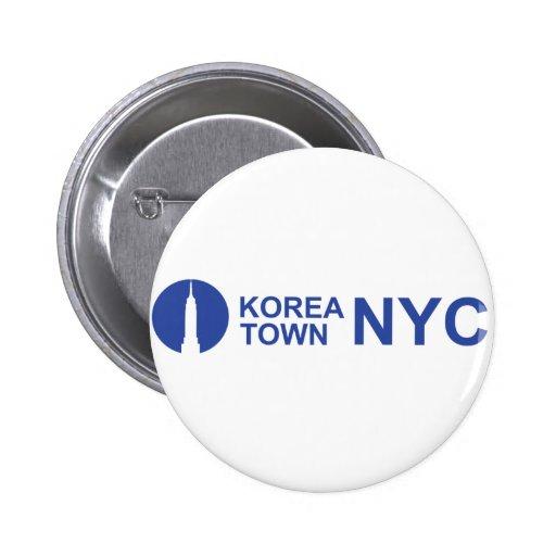 KOREATOWN NYC PIN