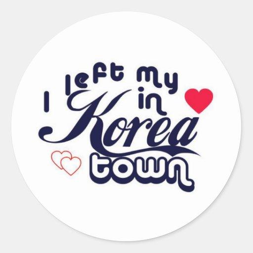 Koreatown Pegatinas