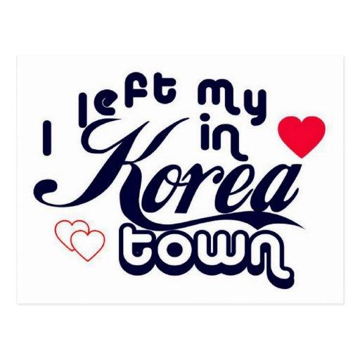 Koreatown Tarjetas Postales