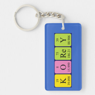 Korey periodic table name keyring