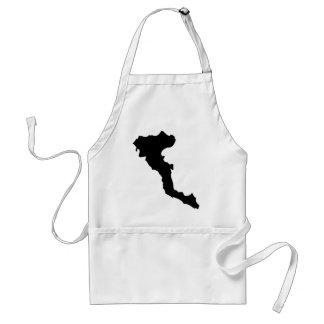 korfu corfu greek island adult apron