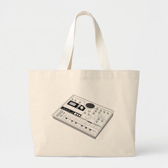 Korg Electribe emx1 music instrument Large Tote Bag
