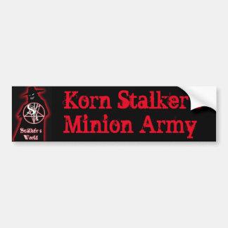 Korn Stalker's Minion Army Bumper Sticker