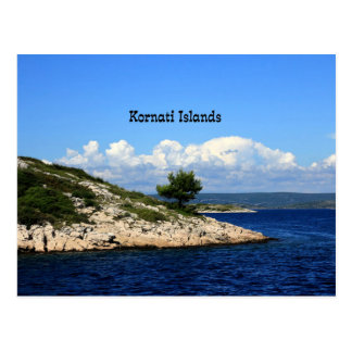 Kornati Islands, Croatia Postcard