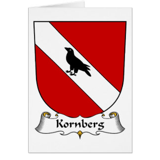 Kornberg Family Crest Greeting Card