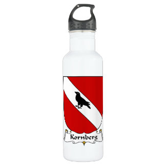Kornberg Family Crest 24oz Water Bottle