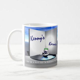 Korner de Kenny que define la taza