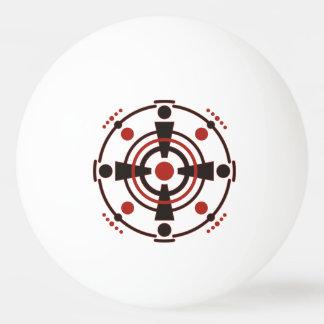 Kornkreis Piktogramm / crop circle pictogram III Ping-Pong Ball