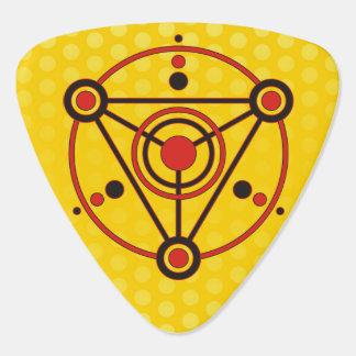 Kornkreis Piktogramm / crop circle pictogram IV Guitar Pick