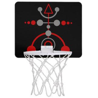 Kornkreis Piktogramm / crop circle pictogram V Mini Basketball Hoop