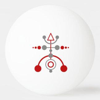 Kornkreis Piktogramm / crop circle pictogram V Ping Pong Ball