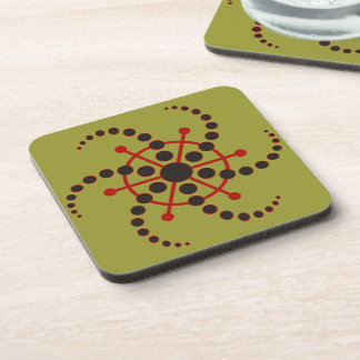 Kornkreis Piktogramm / crop circle pictogram VII Coaster
