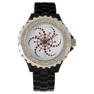 Kornkreis Piktogramm / crop circle pictogram VII Wrist Watch