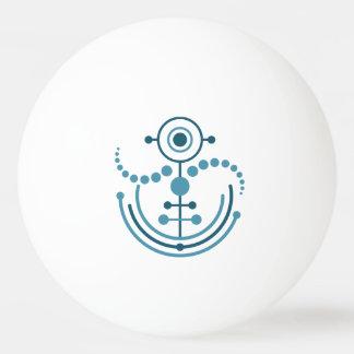 Kornkreis Piktogramm / crop circle pictogram VIII Ping Pong Ball