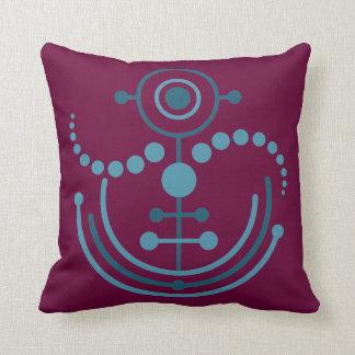 Kornkreis Piktogramm / crop circle pictogram VIII Throw Pillow