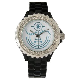 Kornkreis Piktogramm / crop circle pictogram VIII Wristwatch