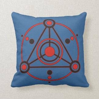 Kornkreis Piktogramm/pictograma IV del círculo de Cojín