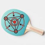 Kornkreis Piktogramm/pictograma IV del círculo de  Pala De Ping Pong