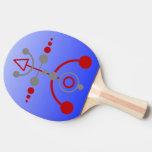 Kornkreis Piktogramm/pictograma V del círculo de l Pala De Tenis De Mesa