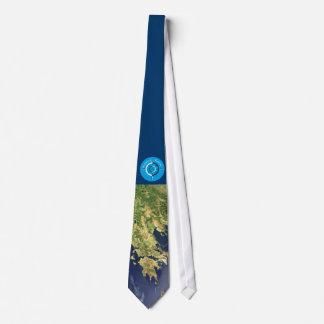 koroni - satellite map peloponnese greece blue - t corbatas