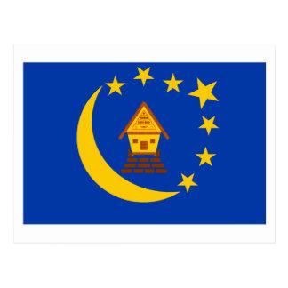 Koror Flag Postcard