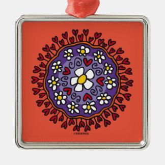 Korrontxo Flores Metal Ornament