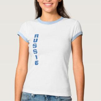kort arma russe t-skjorte t-shirt