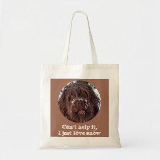 Korthals Griffon - Snowy Sarah Budget Tote Bag