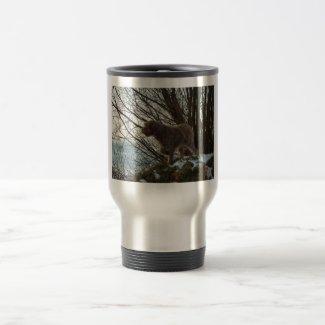 - Korthals Griffon -Tsjip pointing Coffee Mugs