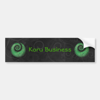 koru business bumper stickers