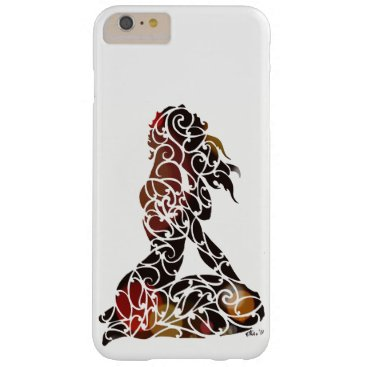 pacificstain Koru Girl Barely There iPhone 6 Plus Case