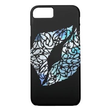Beach Themed Koru kiss iPhone 7 case