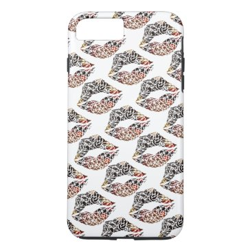 pacificstain Koru kiss iPhone 7 plus case