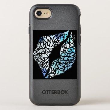 Beach Themed Koru kiss OtterBox symmetry iPhone 7 case