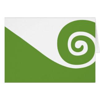 Koru, New Zealand Greeting Card